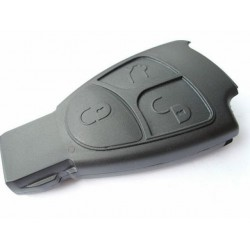 Mercedes benz 3 button smart key case replacement for How to unlock mercedes benz without key