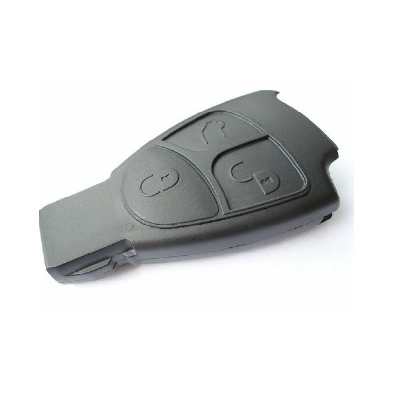 Mercedes benz 3 button smart key case replacement for Replacement key mercedes benz