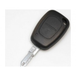 Renault 2 Button Remote Key Shell - Replacement Key Cases from www.keycasereplace.co.uk