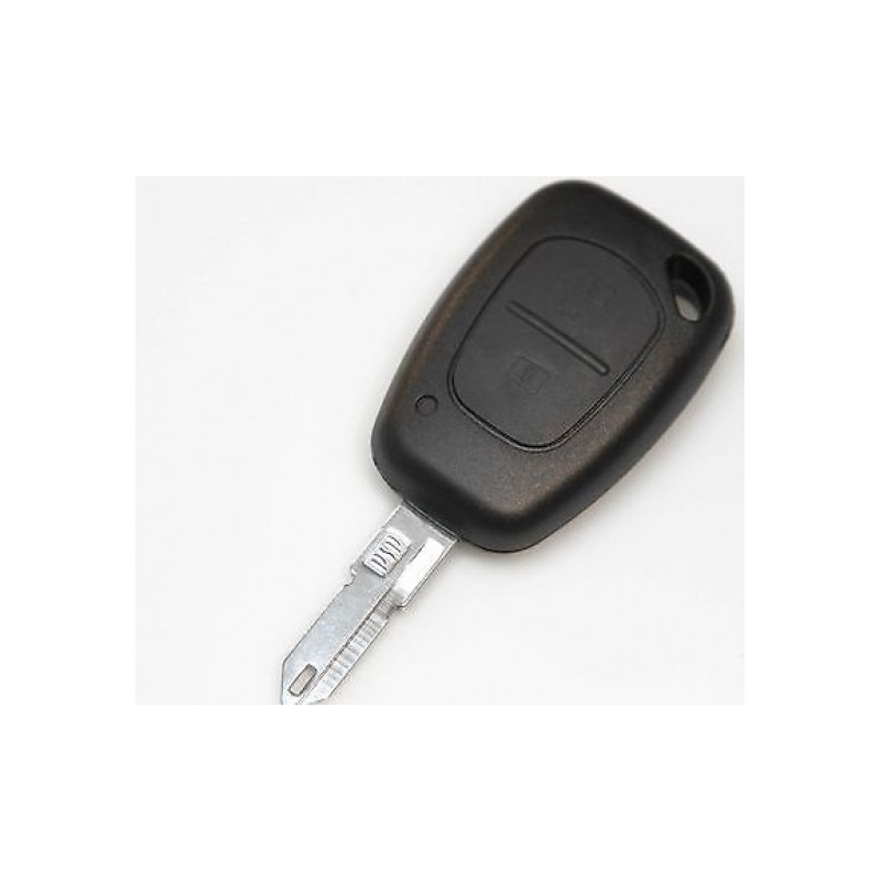 renault 2 button remote key shell replacement renault key case. Black Bedroom Furniture Sets. Home Design Ideas