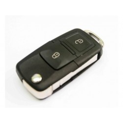 Volkswagen 2 Button Remote Key Shell