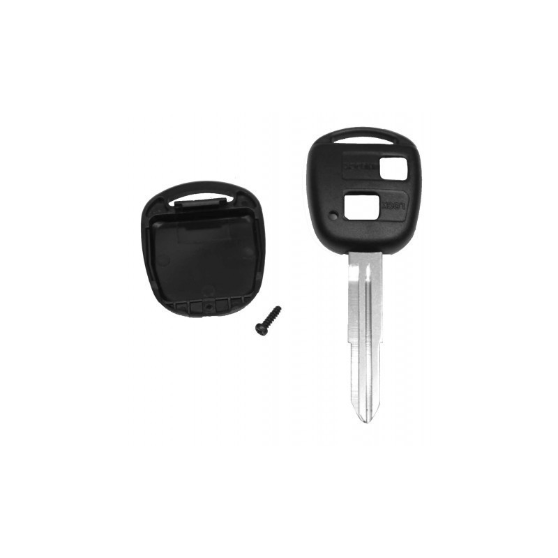 Toyota 2 Button Key Shell With Toy41 Blad - Replacement Key Cases from www.keycasereplace.co.uk