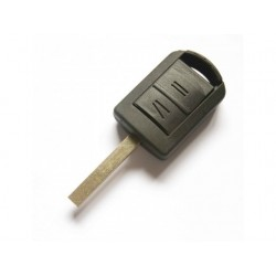 Vauxhall 2 Button Remote Key Shell With Right Blade - Replacement Key Cases from www.keycasereplace.co.uk