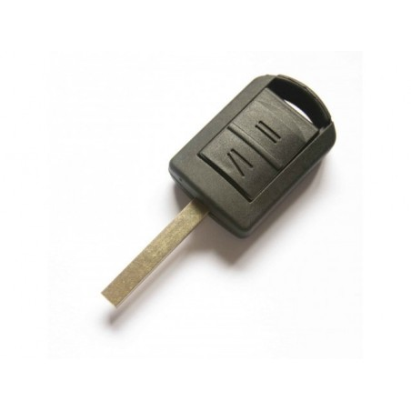 Vauxhall 2 Button Remote Key Shell With Right Blade