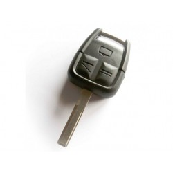 Vauxhall 3 Button Remote Key Shell HU100 Blade - Replacement Key Cases from www.keycasereplace.co.uk