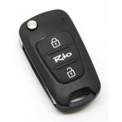 Kia Rio 2 Button Remote Key Shell - Replacement Key Cases from www.keycasereplace.co.uk