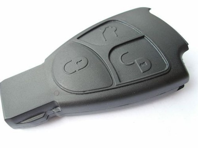 Mercedes benz 3 button smart key case replacement for Mercedes benz keys replacement cost