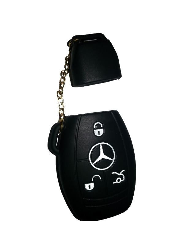 Mercedes silicone key cover replacement mercedes key case for Mercedes benz key cover
