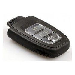Audi 3 Button Smart Key Cover - Replacement Key Cases from www.keycasereplace.co.uk