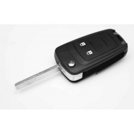 Chevrolet Cruze 2 Button Flip Key Blank