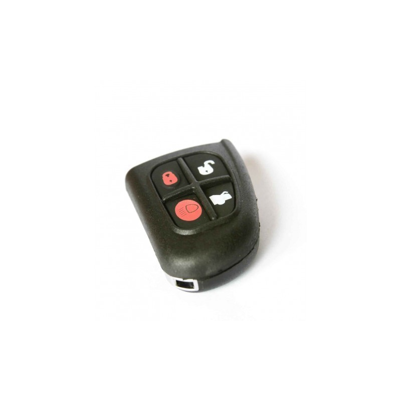 Jaguar 4 Button Remote Unit Cover - Replacement Key Cases from www.keycasereplace.co.uk