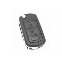 Land Rover 3 Button Flip Remote Key Case HU92 - Replacement Key Cases from www.keycasereplace.co.uk