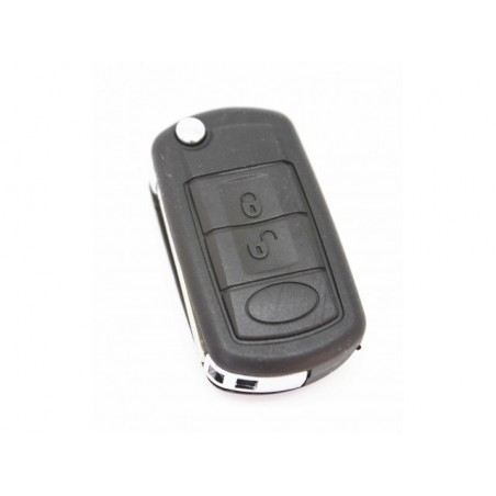 Land Rover 3 Button Flip Remote Key Case HU92