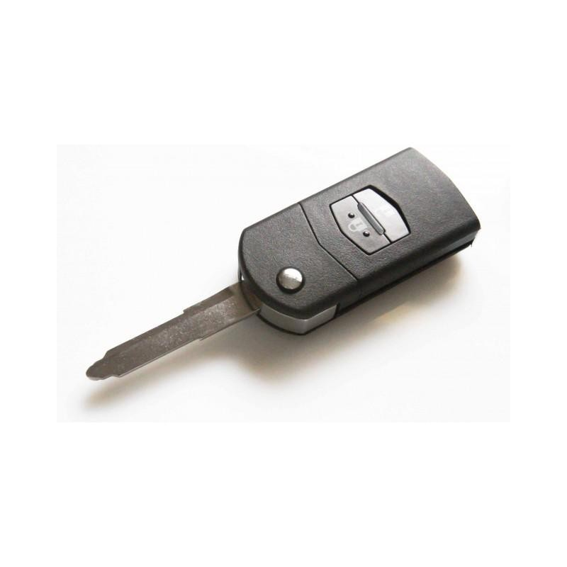 Mazda Original 2 Button Flip Key Case - Replacement Key Cases from www.keycasereplace.co.uk