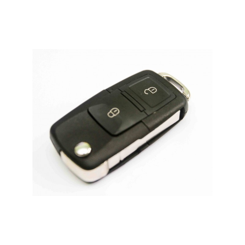 Volkswagen 2 Button Remote Key Shell - Replacement Key Cases from www.keycasereplace.co.uk