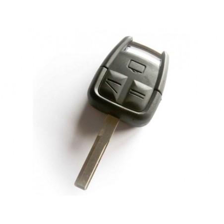 Vauxhall 3 Button Remote Key Shell HU100 Blade