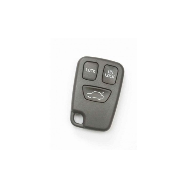 Volvo 3 Button Remote Key Shell - Replacement Key Cases from www.keycasereplace.co.uk
