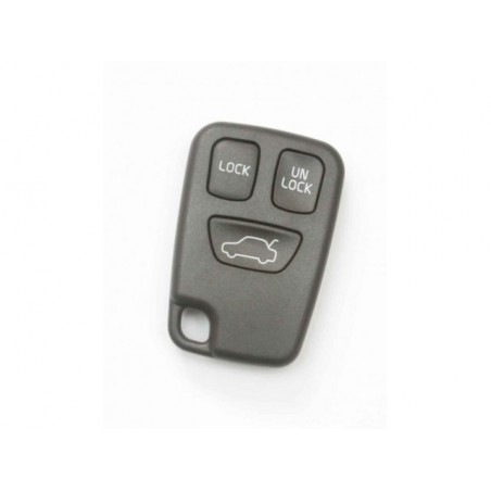 Volvo 3 Button Remote Key Shell