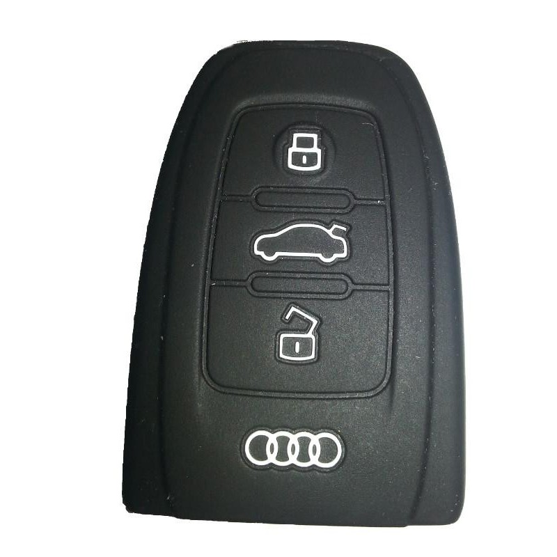 Audi Silicone Key Fob Cover - Replacement Key Cases from www.keycasereplace.co.uk