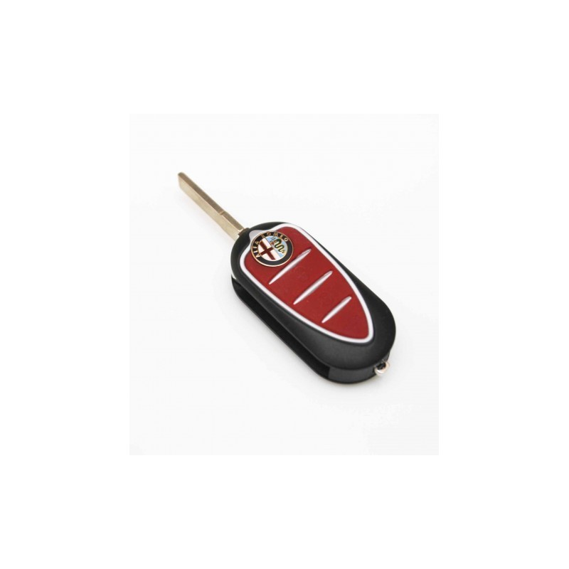 Alfa Romeo 3 Button Flip Remote Key Shell Alfa Romeo Key