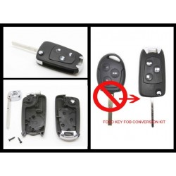 Ford Flip Key Shell - HU101 Blade - Replacement Key Cases from www.keycasereplace.co.uk
