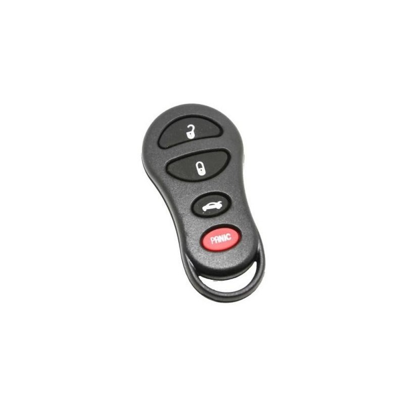 Chrysler 3+1 Button Remote Case