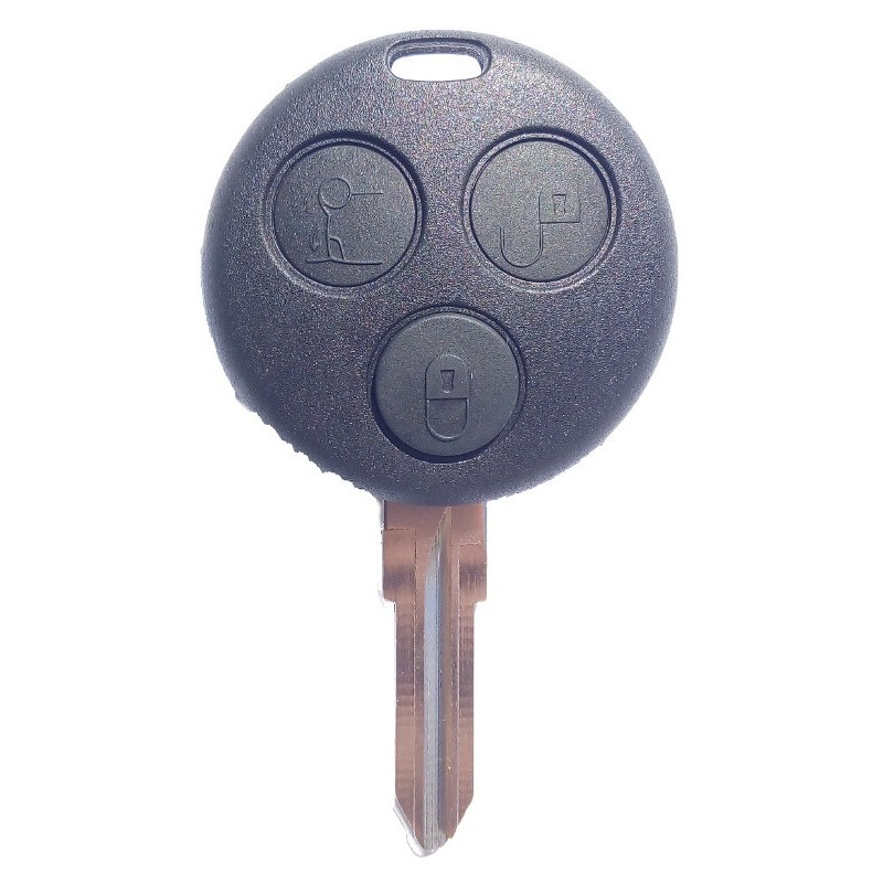 Smart 3 button remote key shell