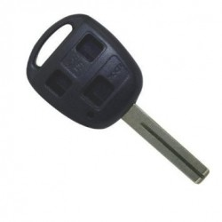 Lexus 3 Button Remote Key Shell Toy 48 Blade