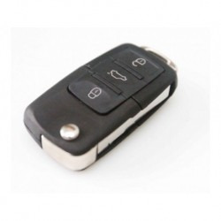 Skoda 3 Button Remote Key Shell