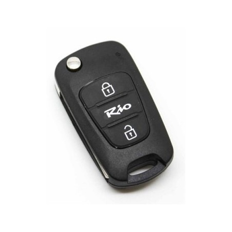 Kia Rio 2 Button Remote Key Shell
