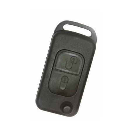Mercedes Benz 2 Button Flip Key Shell 4 Track