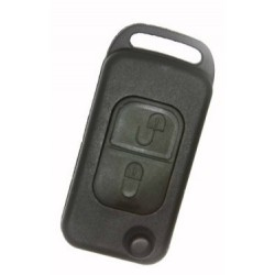 Mercedes Benz 2 Button Flip Key Shell 2 Track