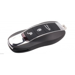 Porsche Cayenne 3 Button Remote Key Case