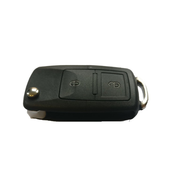 Volkswagen 2 Button Key Shell With No KeyBlade