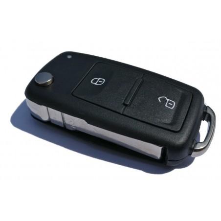 Volkswagen 2 Button Flip Key Case