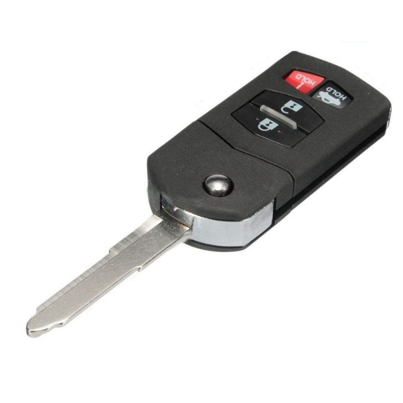 Mazda 4 Button Flip Key Case - Replacement Key Cases from www.keycasereplace.co.uk