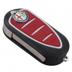 Alfa Romeo 3 Button Flip Remote Key Shell (Sip22) - Replacement Key Cases from www.keycasereplace.co.uk