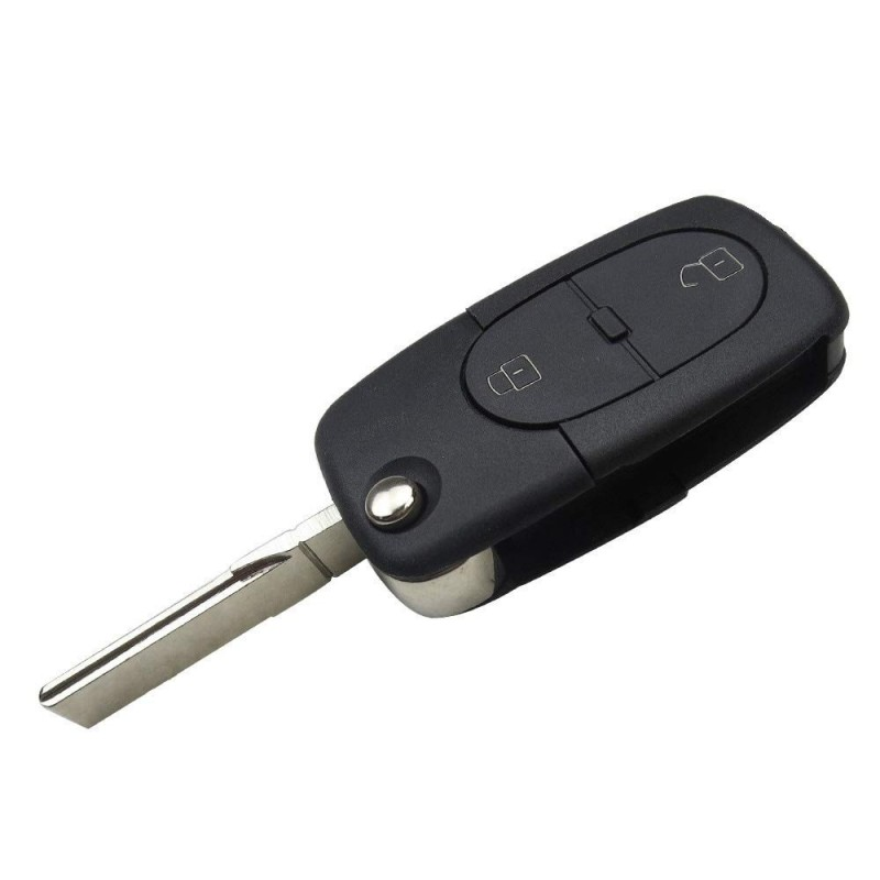 Audi 2 Button Remote Key Shell 1616 Battery - Replacement Key Cases from www.keycasereplace.co.uk