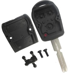 BMW 3 Button Remote Key Shell With HU58 Blade - Replacement Key Cases from www.keycasereplace.co.uk