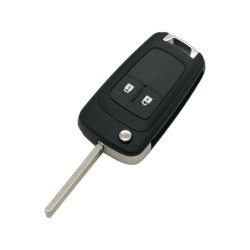 Chevrolet Cruze 2 Button Flip Key Blank - Replacement Key Cases from www.keycasereplace.co.uk