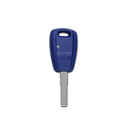 Fiat 1 Button Remote Key Shell (Blue)