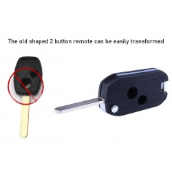 Honda 2 Button Modified Folding Key Blank