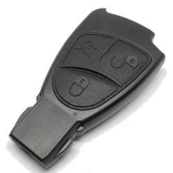 Mercedes Benz 3 Button Smart Key Case - Replacement Key Cases from www.keycasereplace.co.uk