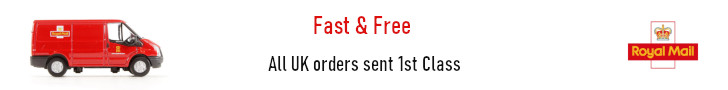 Fast and free UK delivery