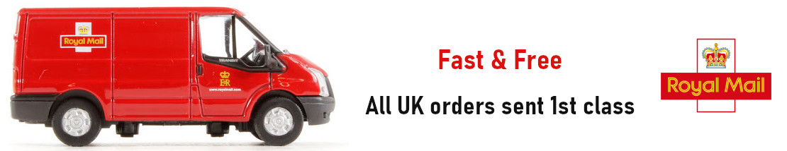 fast and free uk delivery on all items